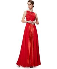 Ever Pretty Červené šaty s odlesky