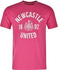 Tričko NUFC Crew pán. růžová