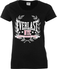 Tričko Everlast Logo dám. černá