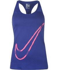 Módní tílko Nike Swoosh dám. královská modrá