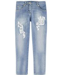 Ermanno Scervino Junior Skinny-Fit-Jeans mit Perlen fur Mädchen