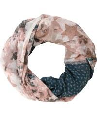 Tom Tailor Damen Schal printed loop blau OneSize