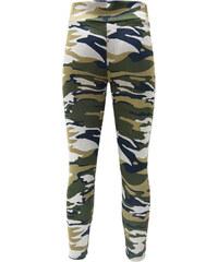 Lesara Leggings im Camouflagedesign - Beige - M-L