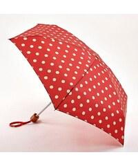 Fulton dámský skládací deštník Cath Kidston Tiny 2 BUTTON SPOT BERRY L521