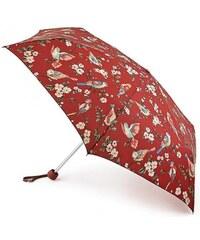 Fulton dámský skládací deštník Cath Kidston Minilite 2 BRITISH BIRDS BERRY L768