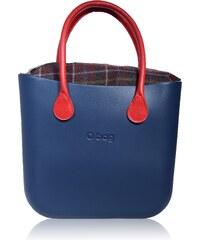 O bag Inner Zip Top červený