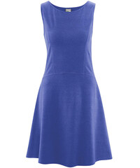 DAISY Dámské šaty z konopí a biobavlny - modrá chrpová, Hempage