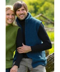 Engel Natur Pánská fleesová vesta z 100% bio merino vlny Engel