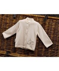 Dětský kabátek ze 100% biobavlny MIMI Button Style