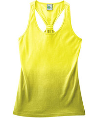 Hempage EVE dámský top na ramínka z konopí a biobavlny - žlutá citrus