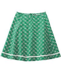SOPHIA Sukně z konopí a biobavlny - smaragdová, Hempage