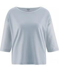 Hempage MERIL dámský top z konopí a biobavlny - šedá platinová