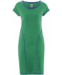 Hempage AVRIL Dámské letní šaty z konopí a biobavlny - smaragdová