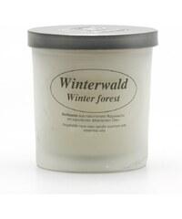 Kerzenfarm Přírodní vonná svíčka z řepkového vosku Zimní les
