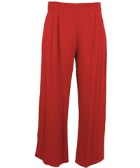 CREPE dámské kalhoty - červené Nomads