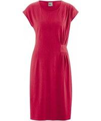 Hempage Dámské šaty z konopí a biobavlny JESSY červená chilli