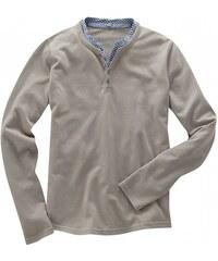 Hempage HENRY pánský svetr z biobavlny a konopí - šedohnědá