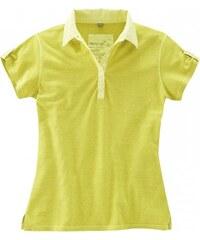 Hempage PAULA dámské polo tričko z biobavlny a konopí - zelené
