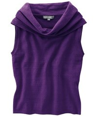 Hempage LENA dámská vesta z konopí a biobavlny fialová