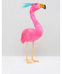 Paperchase - Weihnachtsdekoration mit Flamingodesign, 30 cm - Mehrfarbig