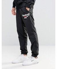 Reebok - Vector - AZ9542 - Pantalon de jogging avec logo - Noir - Noir