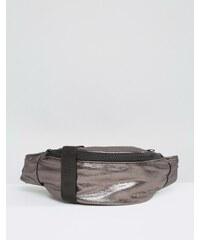 ASOS LIFESTYLE - Sac banane souple métallisé - Gris