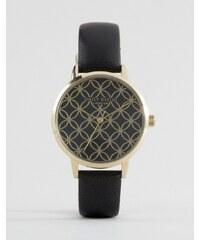 Daisy Dixon - Penny - Schwarze Armbanduhr aus Leder, DD034BG - Schwarz