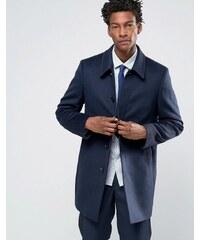 Reiss - Eleganter Trenchcoat aus Wolle - Marineblau
