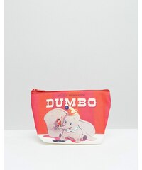 Beauty Extras Dumbo - Kosmetiktasche mit Retro-Print - Transparent
