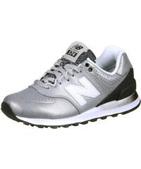 New Balance Wl574 W Schuhe silber