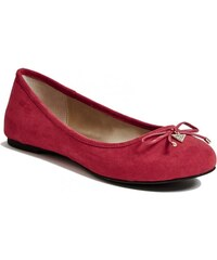 GUESS GUESS Gracie Flats - red suede