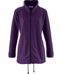 bpc bonprix collection Gilet polaire manches longues violet femme - bonprix