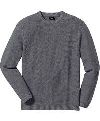 bpc bonprix collection Pull Regular Fit gris manches longues homme - bonprix