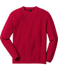 bpc bonprix collection Pull Regular Fit rouge manches longues homme - bonprix