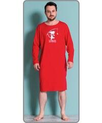 Gazzaz Pánská noční košile s dlouhým rukávem Sleepwalker