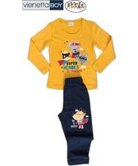 Vienetta Kids Dětské pyžamo dlouhé Superhrdinové