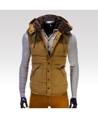 Kamlin pánská zimní vesta Marvin béžová XL.