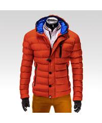 Ombre Clothing pánská bunda Asgard oranžová S