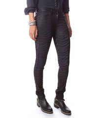 Cimarron Jeans Jeans Enduit Tyler Skinny Zebre Noir Femme
