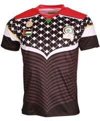 Cadenza T-shirt Maillot De Foot Palestine CZ227 Noir