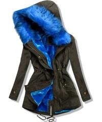 Parka khaki/blau LD-7597