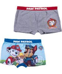 Paw Patrol 2 er Pack Boxer blau in Größe 3 für Jungen aus 95% Baumwolle 5% Elastan