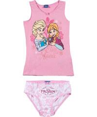 Disney Die Eiskönigin Unterwäsche-Set 2tlg rosa in Größe 4 für Mädchen aus 100% Baumwolle
