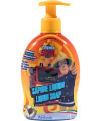 Feuerwehrmann Sam Seifenspender gelb in Größe UNI für Jungen aus 95% natürliche