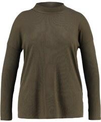New Look Curves Tshirt à manches longues dark khaki