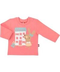 2be3 Dívčí kabátek Králíček - světle růžový