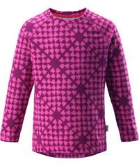 Reima Dívčí vzorované funkční tričko Tiptoe - růžové