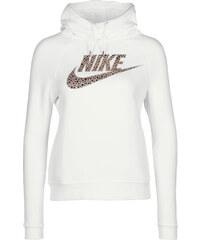 Nike Rally Funnel Neck W Hoodie white/grey/bronze