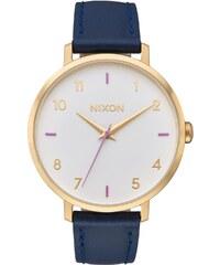 Nixon Damenuhr Arrow Leather Gray/Navy A1091 151