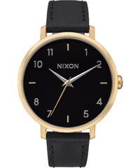 Nixon Damenuhr Arrow Leather Gold/Black A1091 513